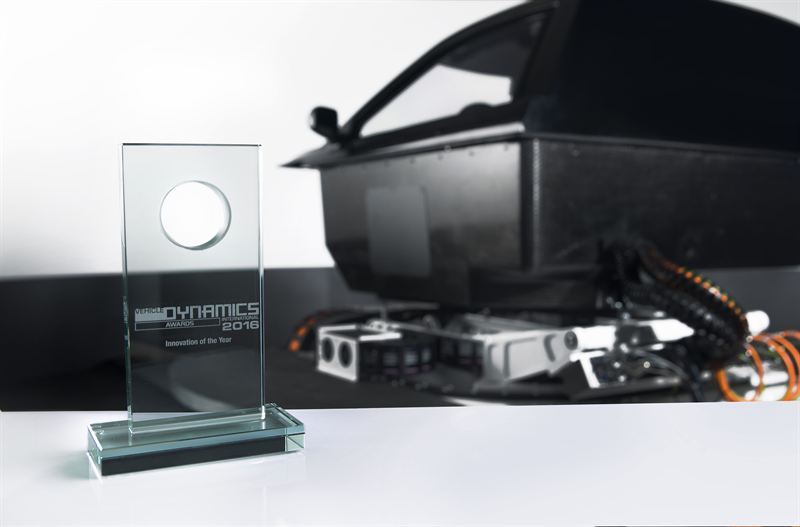 Innovation award for automotive simulator