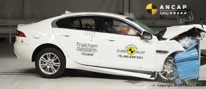 Jaguar XE gains ANCAP five stars