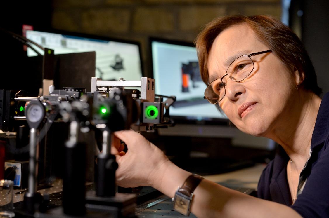 Jane Jiang of the Future Metrology Hub at Huddersfield University
