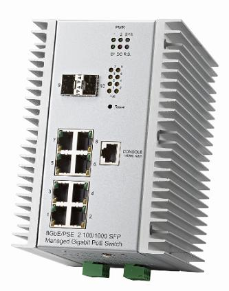 Jetnet 7310G Industrial Ethernet managed switch