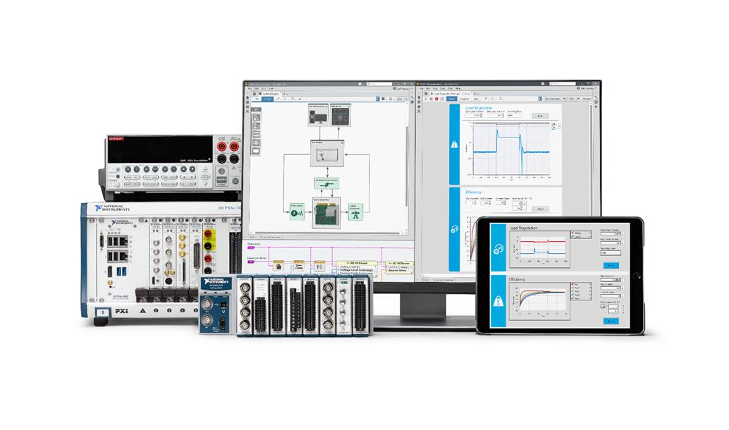 LabVIEW engineering system design software