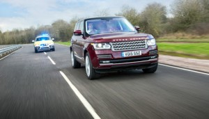 Land Rover to test on connected corridor