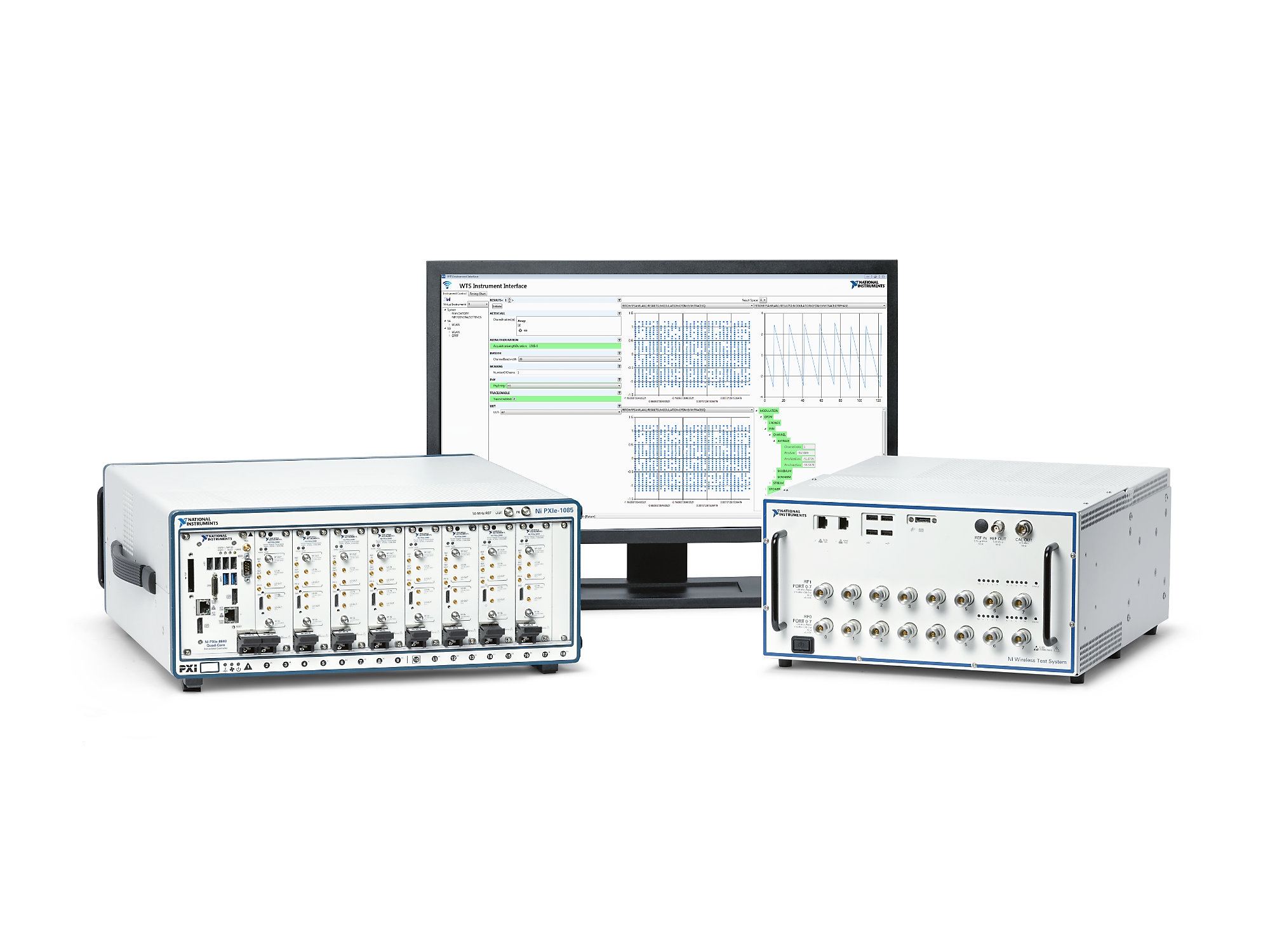 Latest release of NI Wireless Test System