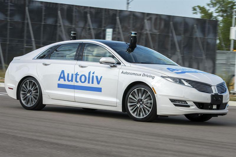 LiDAR specialist acquisition aids Autoliv autonomous car initiatives