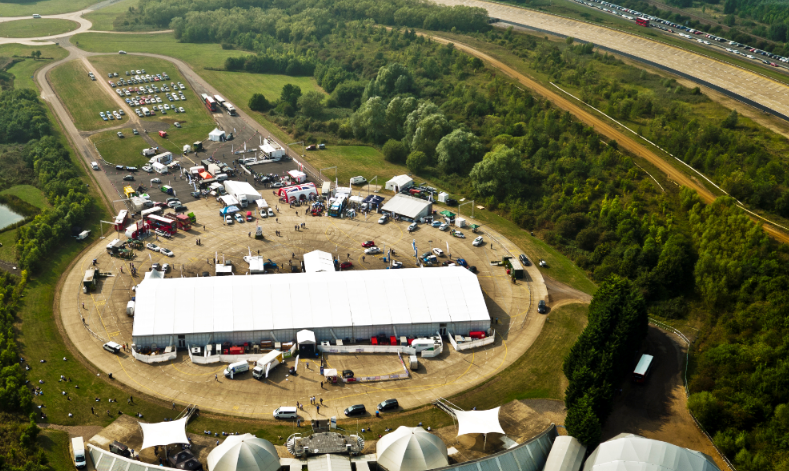 Low carbon vehicle event taking place at Millbrook proving grounds