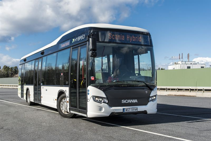 Madrid takes hybrid buses from Scania