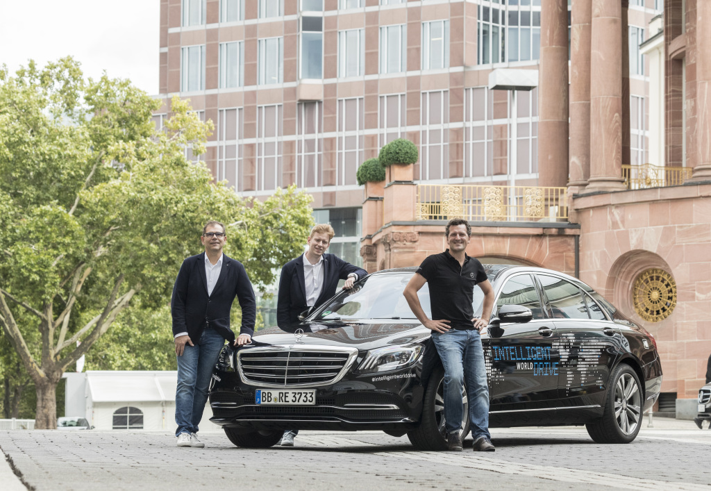 Mercedes-Benz to test automated driving in 5 continents using modified S-Class