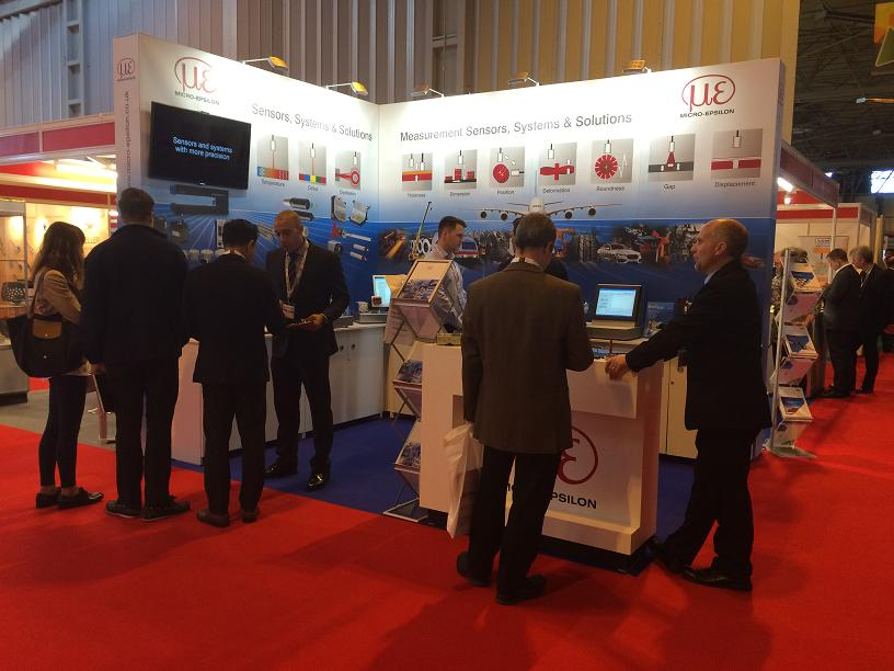 Micro-Epsilon at Manufacturing and Engineering North East exhibition