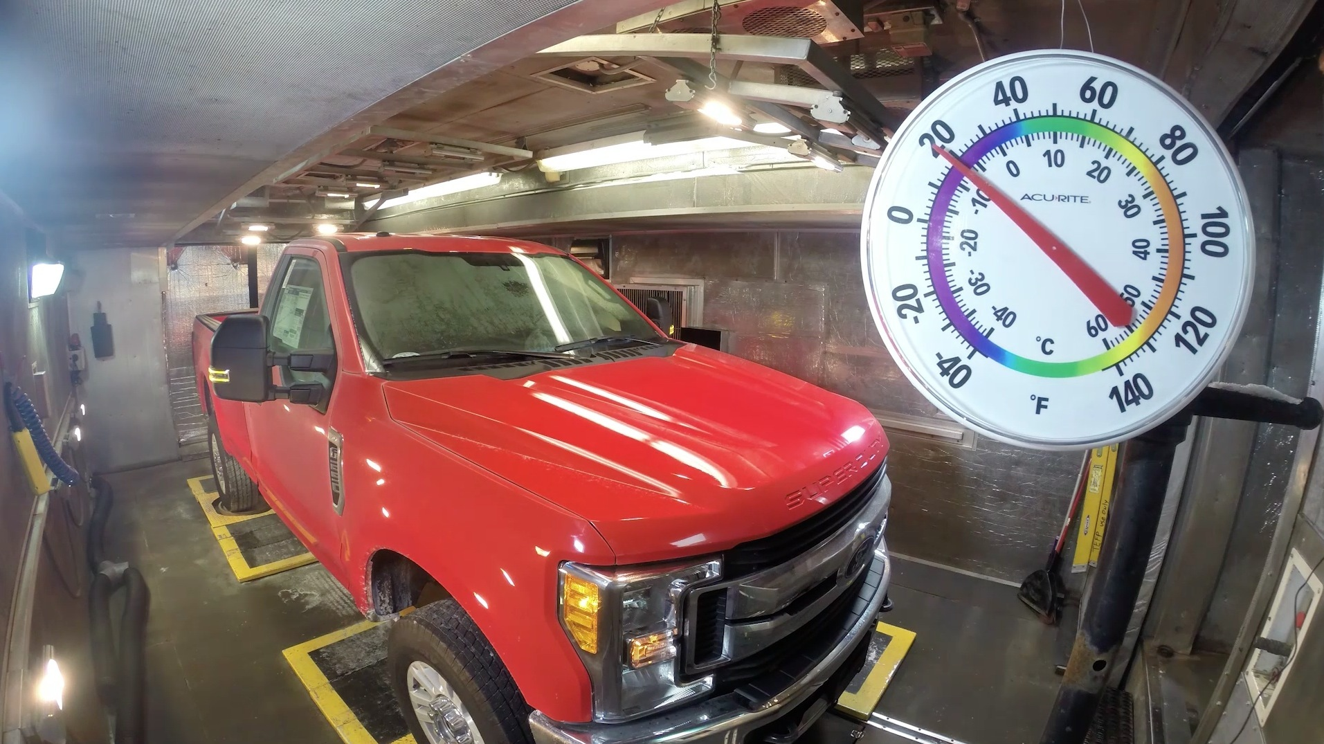 Mobile climate test chambers for Ford
