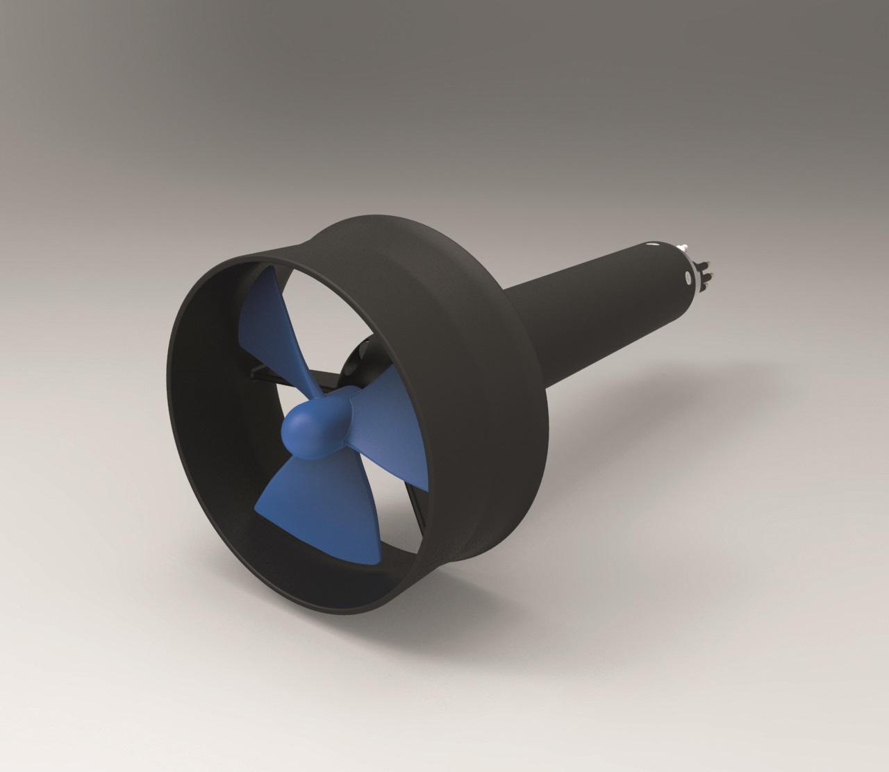 Motors for marine applications like props