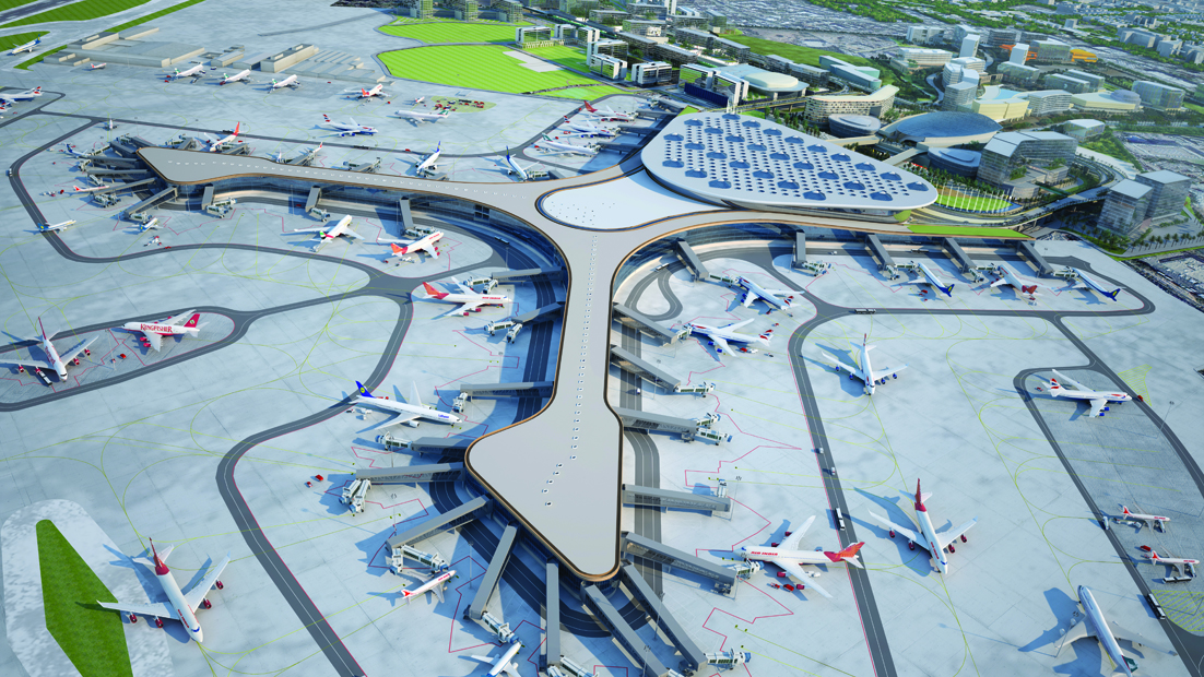 New Integrated Terminal T2- Aerial View
