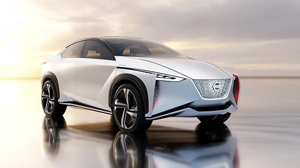Nissan IMx zero emission autonomous concept car