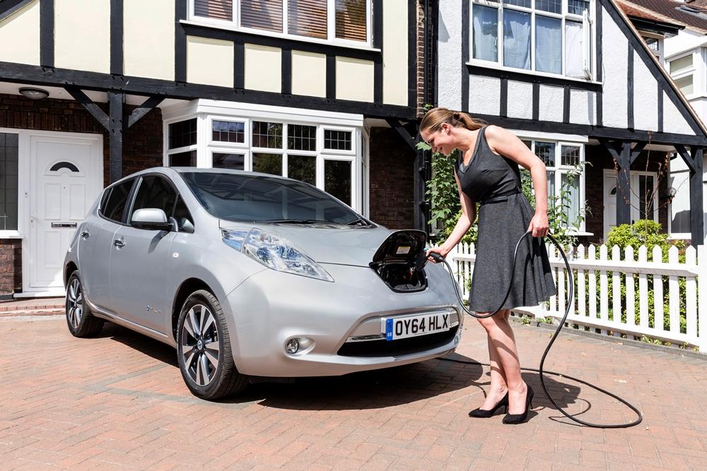 Nissan LEAF home charging