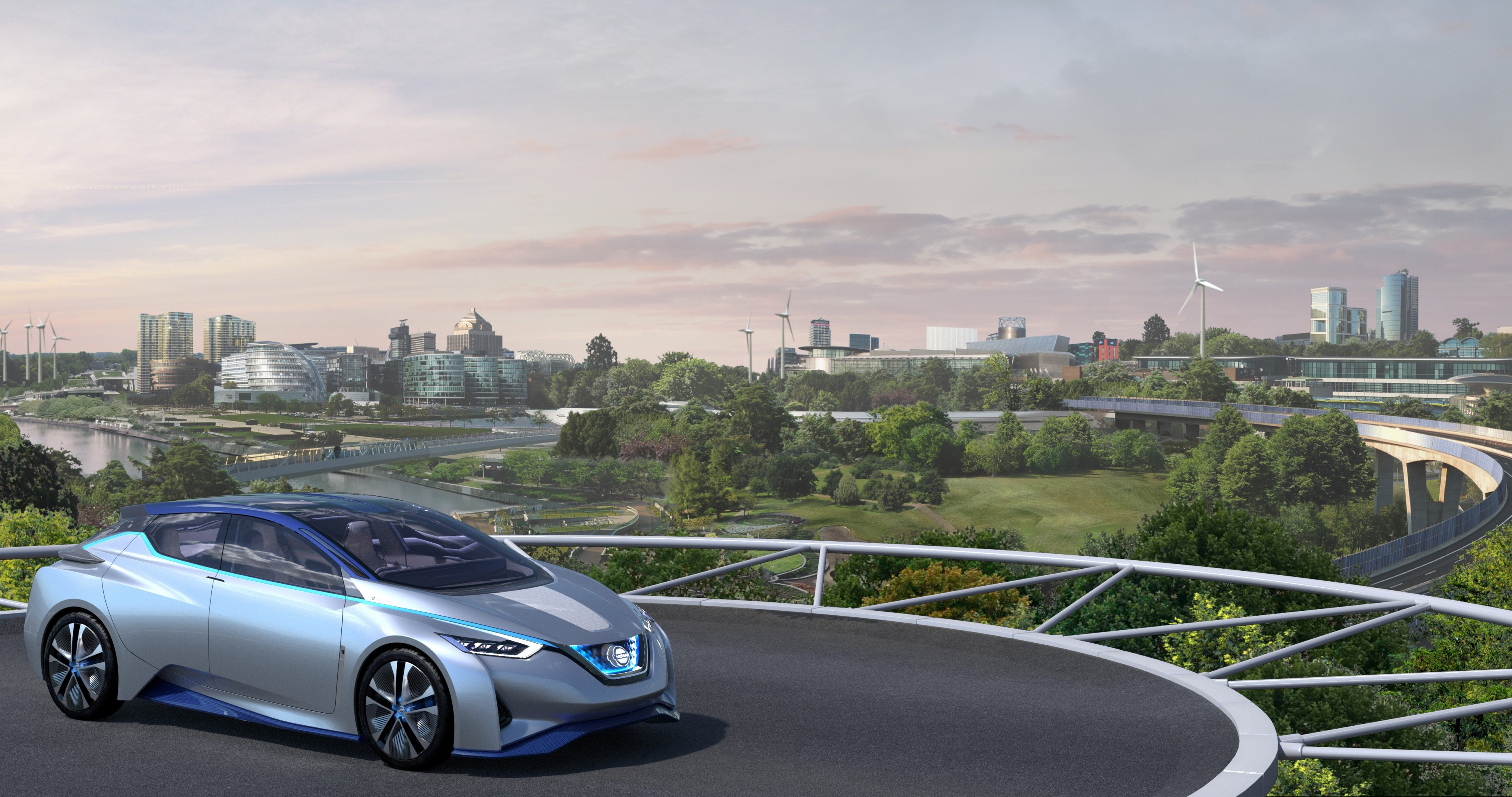 Nissan fuel station of the future concept