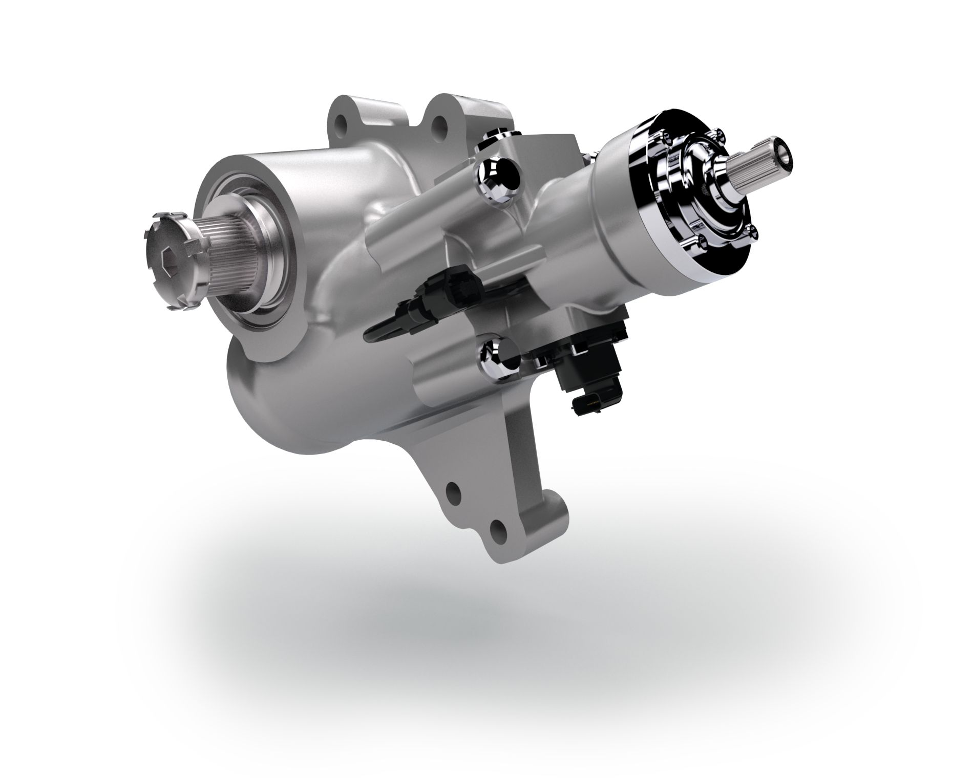 OnLaneASSIST features innovative lane correction based on a hydraulic steering gear