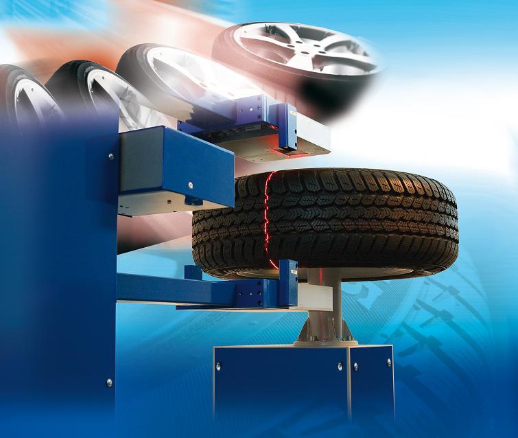 Online measurement for tyre manufacturer