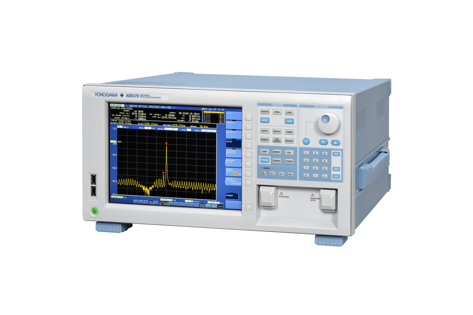 Optical spectrum analyser