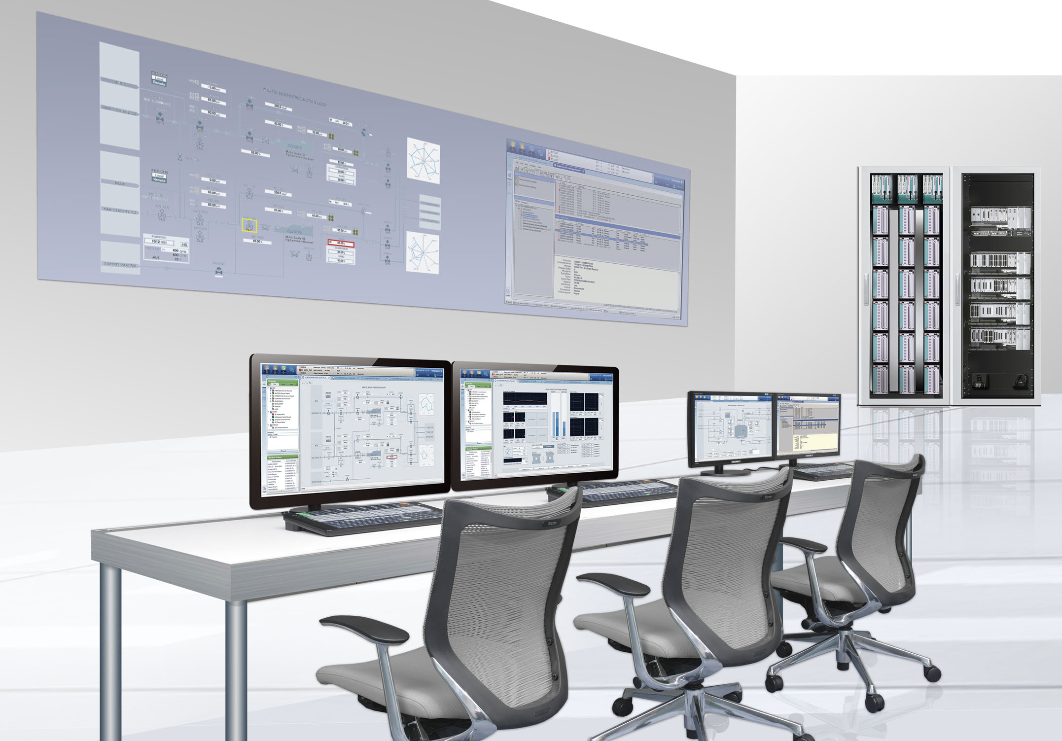 Power and desalination control system