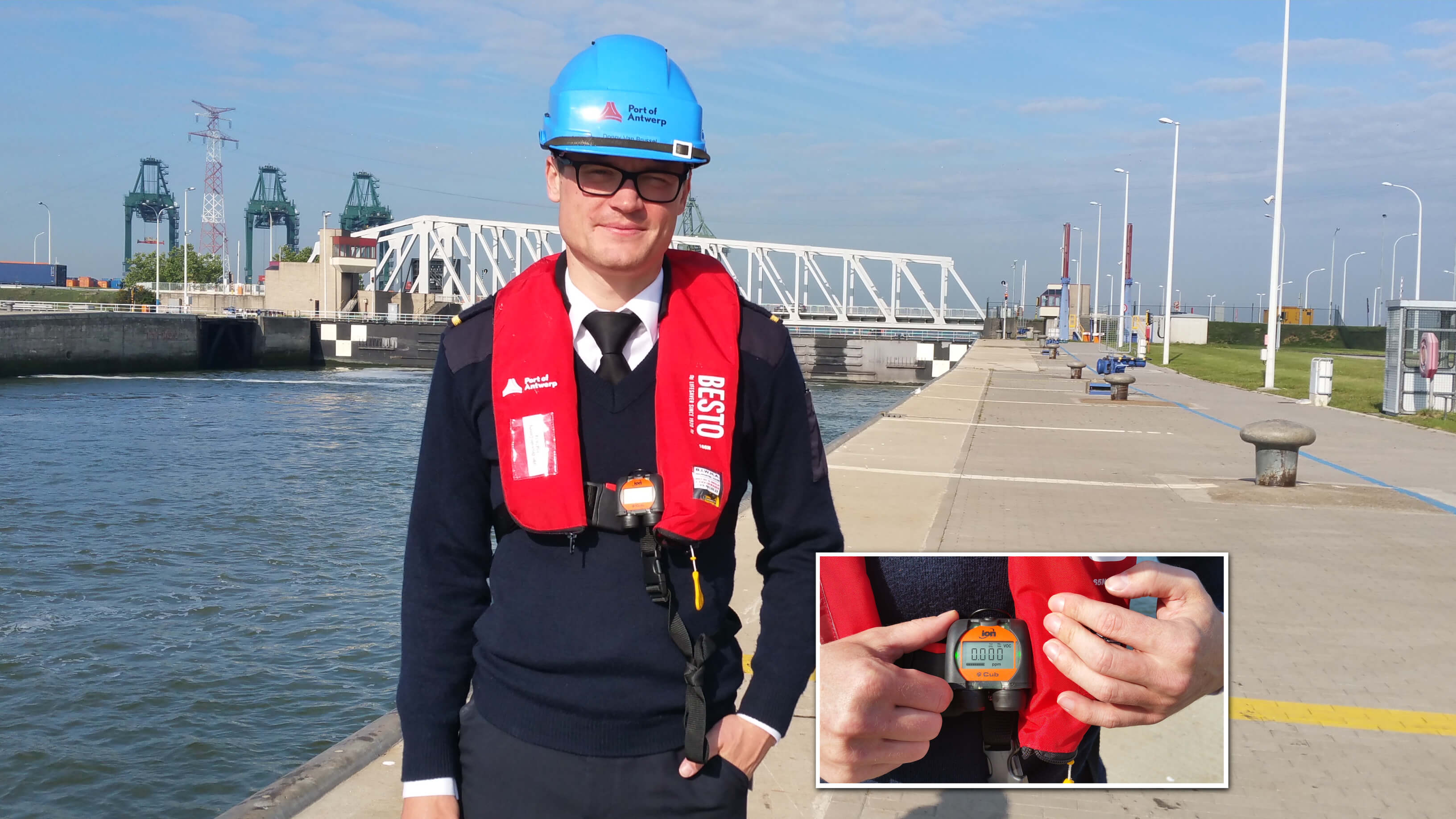 Protecting Port of Antwerp employees from hazardous gases