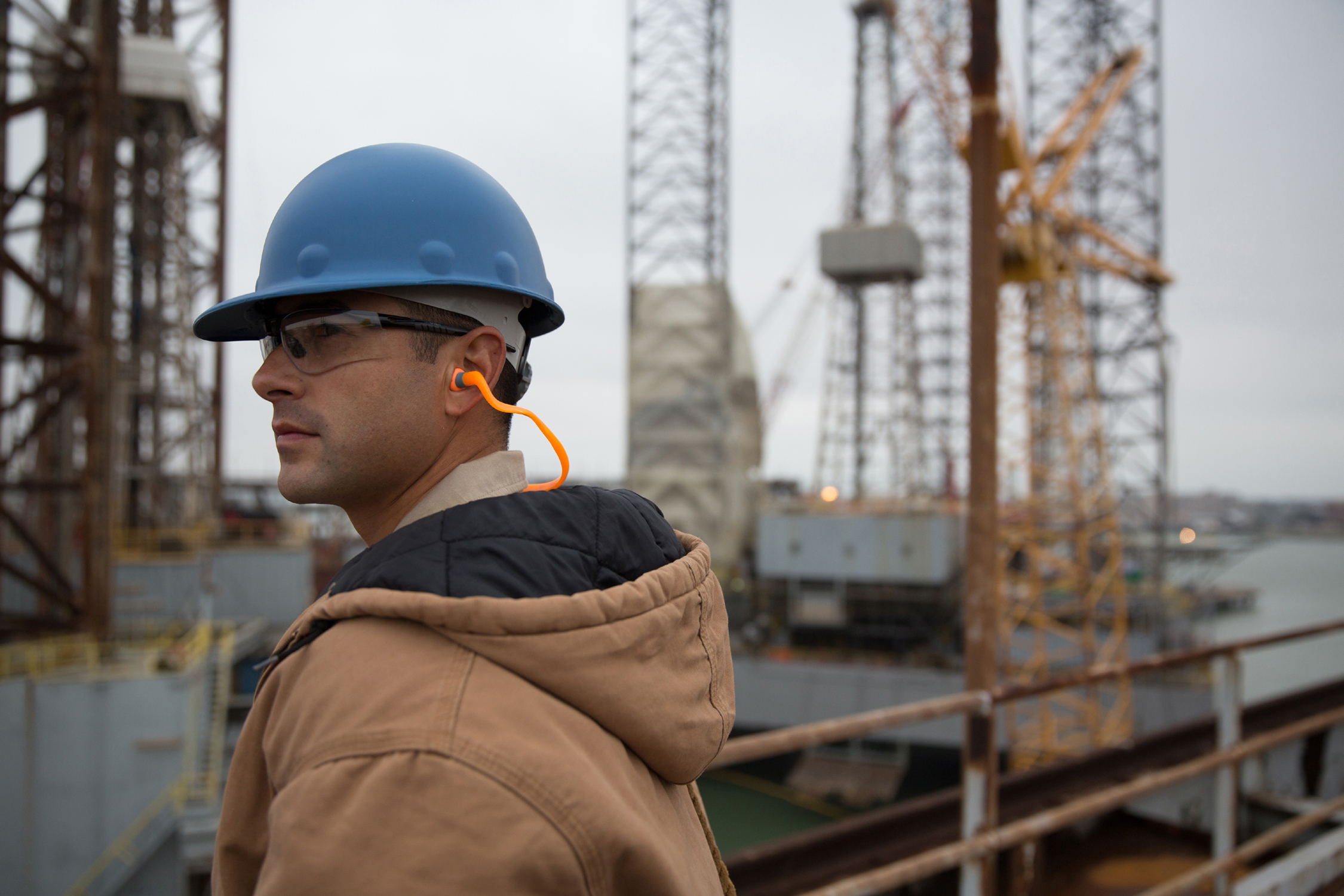 Protection from industrial hearing loss