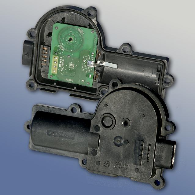 Protective material for contactless position sensor housing
