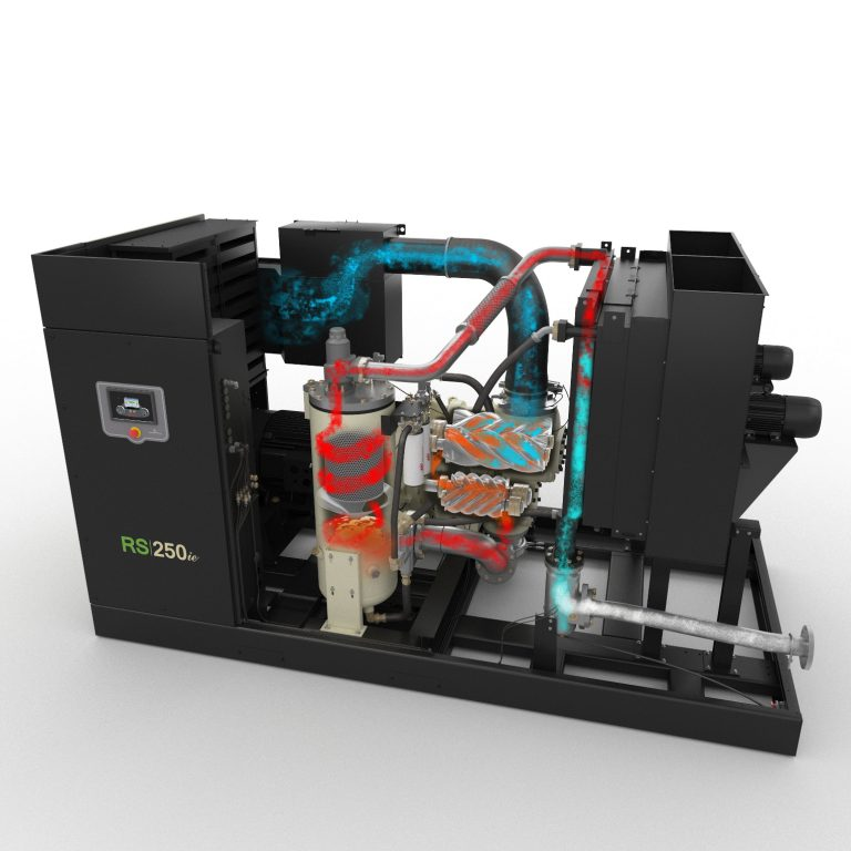 R-Series oil-flooded rotary screw air compressor