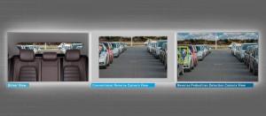 Reverse pedestrian detection system comparison