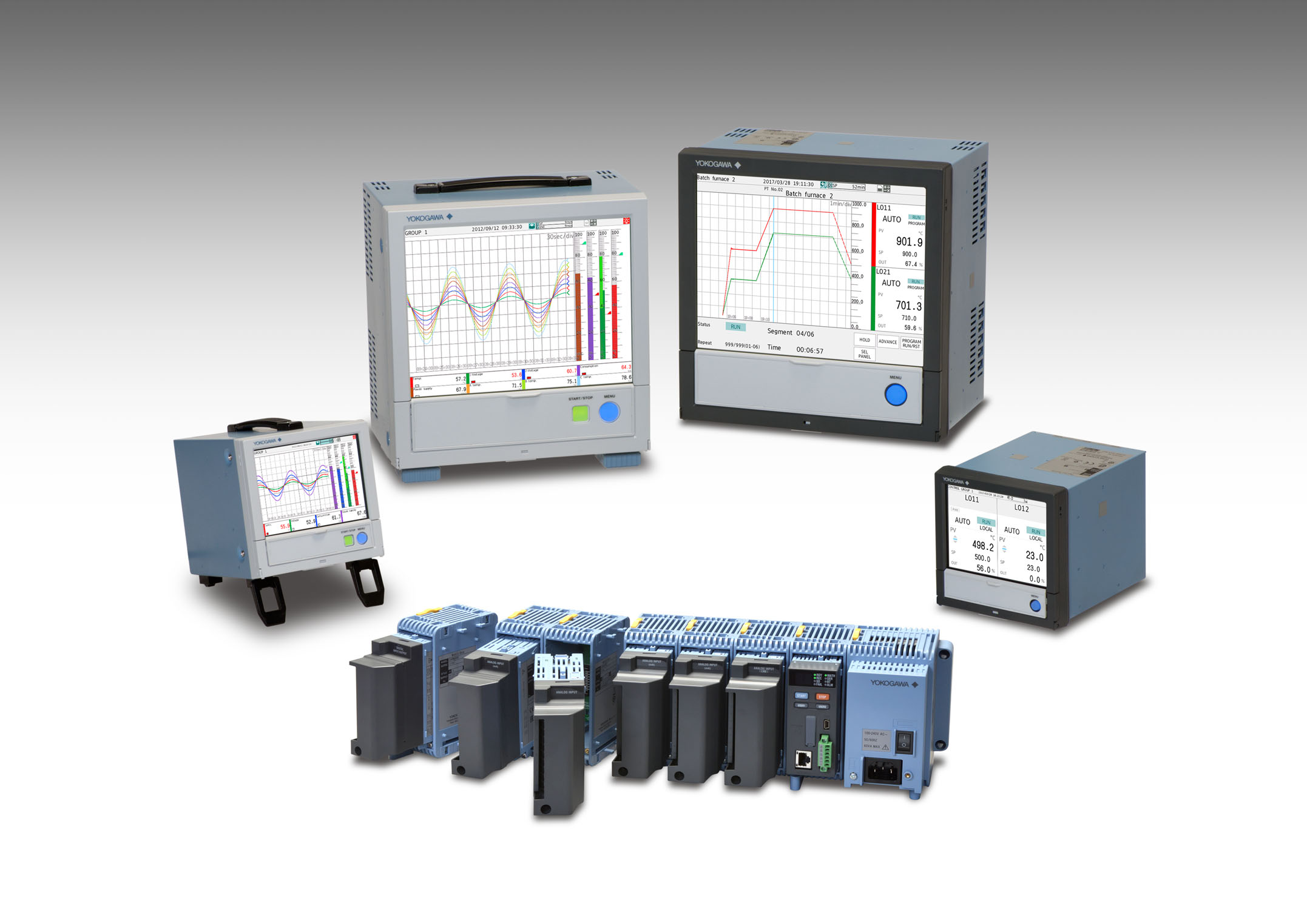 SMARTDAC plus GX GP GM data acquisition range