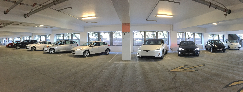 Santa Clara vehicle charging centre
