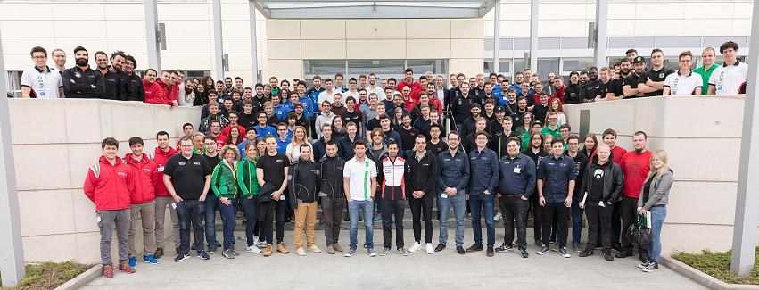 Schaeffler Motorsport Academy attendees