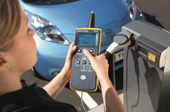 Seaward EV100 charging station test equipment
