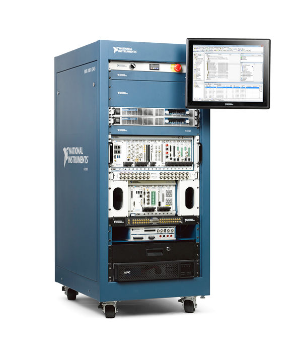 System components and rack assembly for ATE Core Configurations