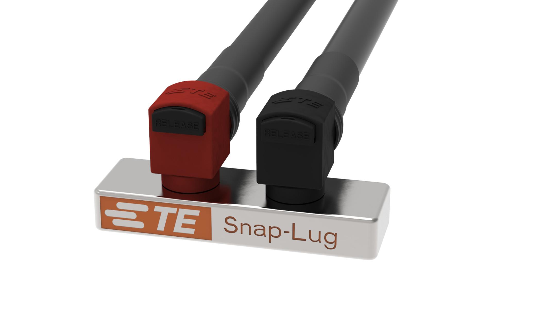 TE Connectivity Snap-Lug power connector