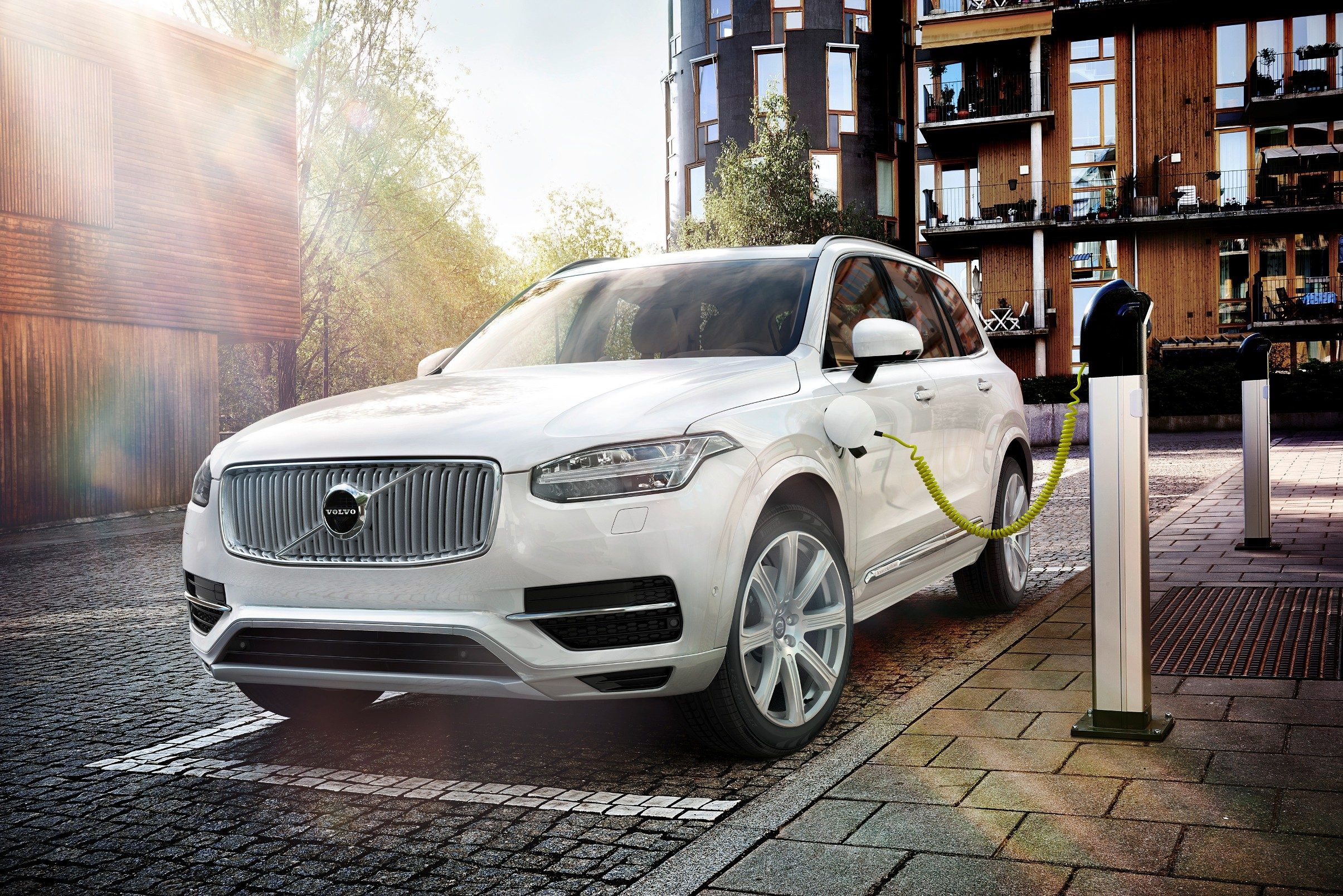 The new Volvo XC90 on charge