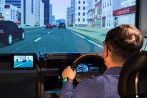 The wearables lab in use at Ford
