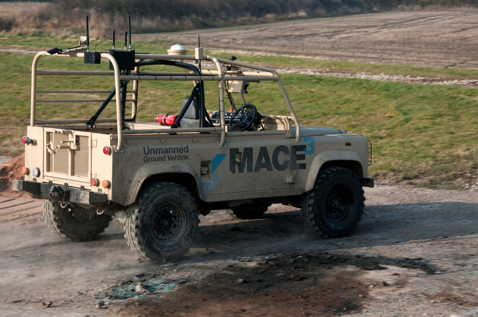 Unmanned Ground Vehicle Localisation Project