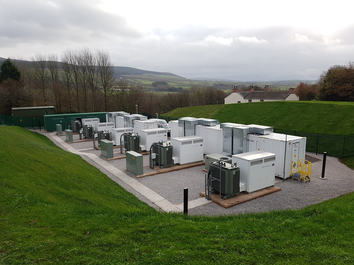 VLC Energy 10MW energy storage system at Cleator