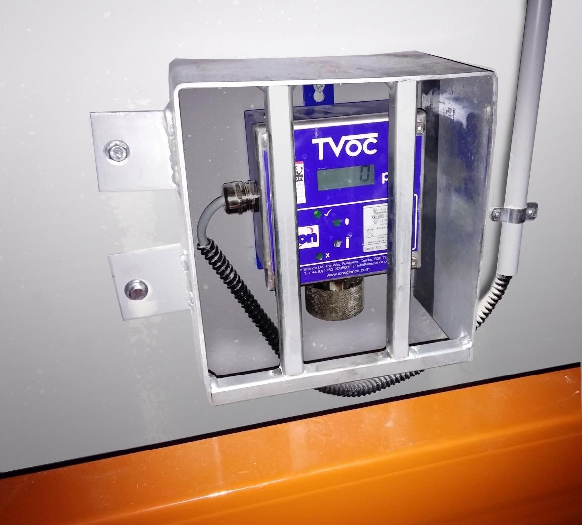 VOC monitor for leak detection