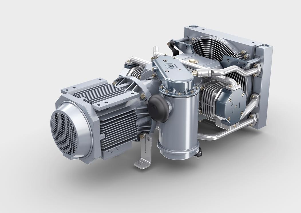 VV120-T oil-free compressor for 1520mm gauge railways