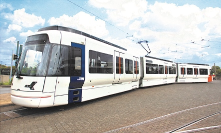 Vamos GTZ8-B light rail vehicle