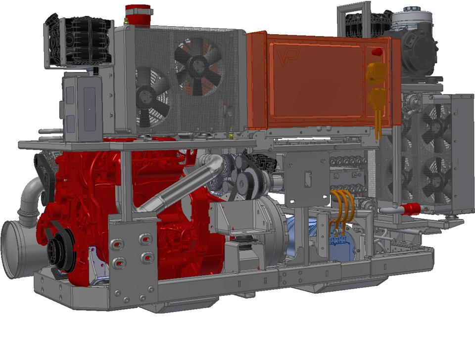 Vantage Power B320 hybrid retrofit power train for London buses