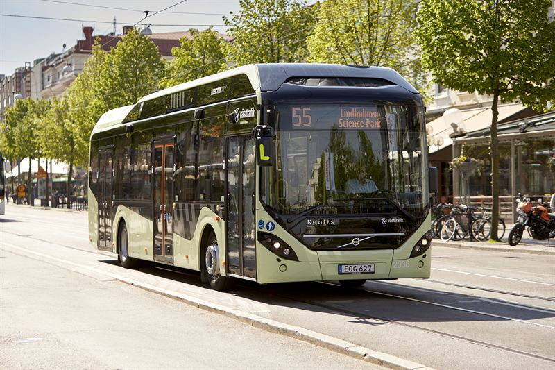 Volvo 7900 Electric Hybrid bus for Luxembourg