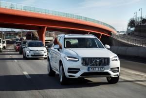 Volvo Drive Me autonomous test vehicle