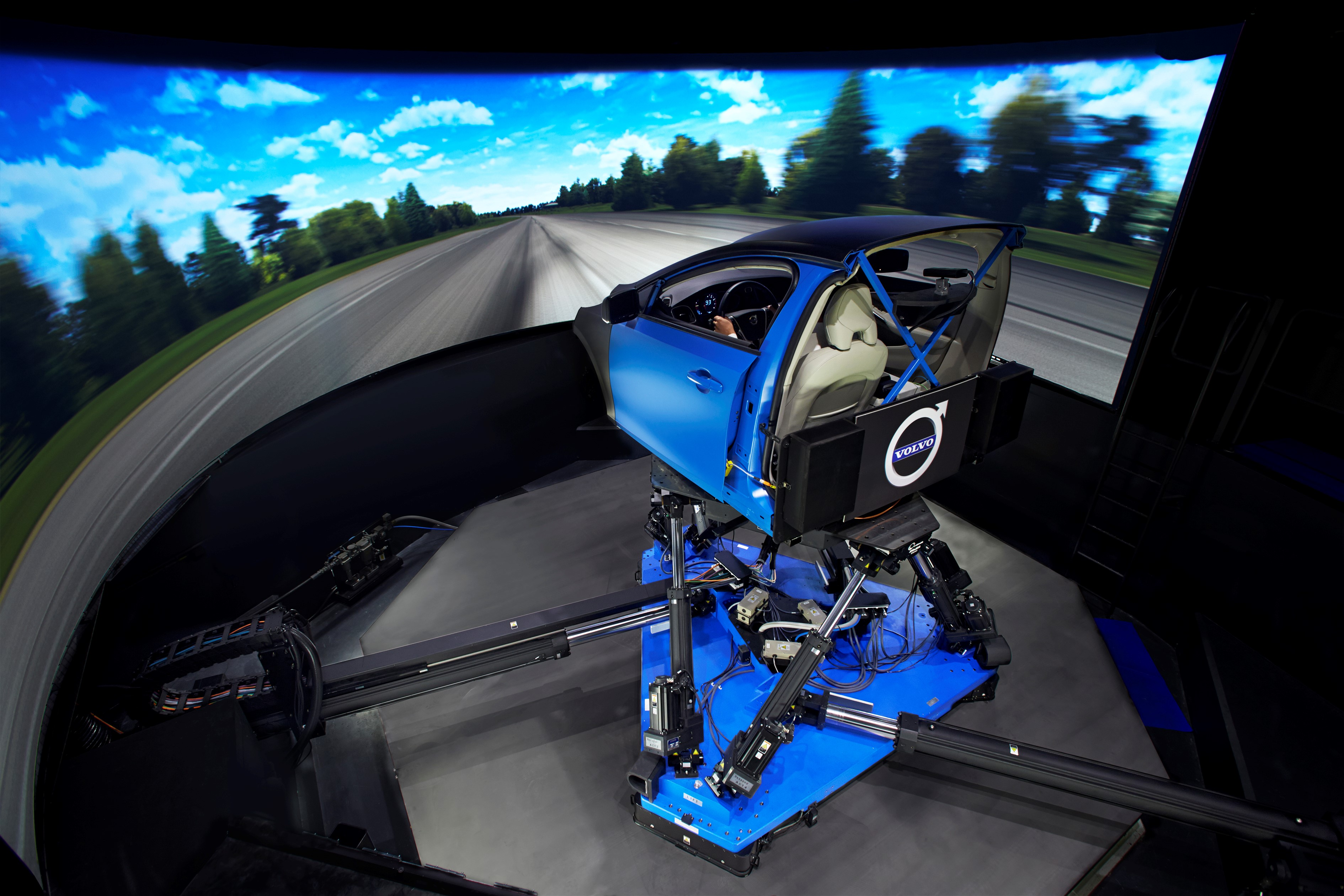Volvo chassis simulator