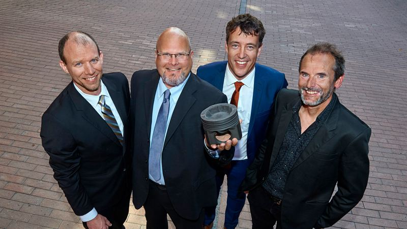 Volvo wins design award for wave piston