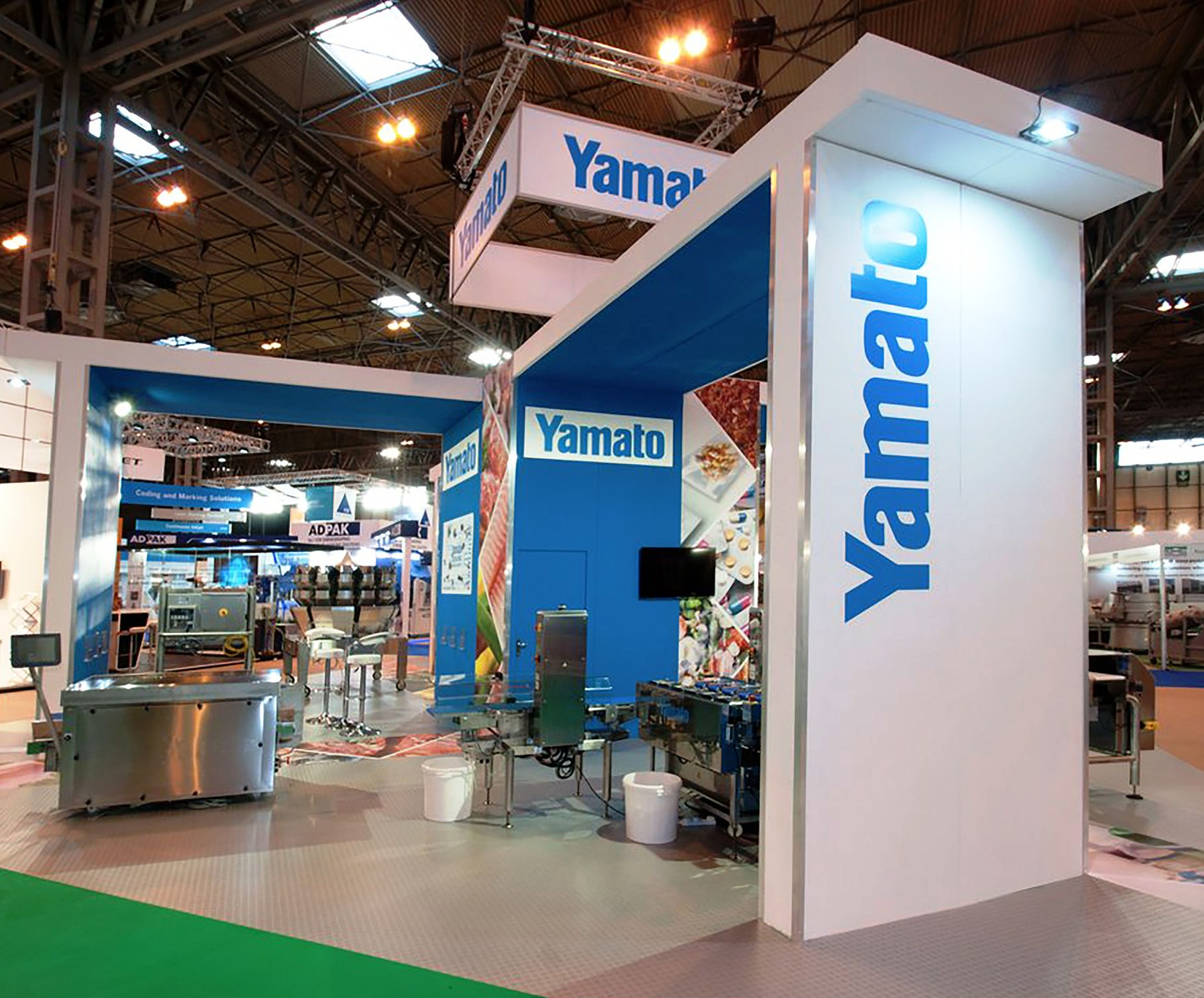 Yamato at Interplas at the NEC in Birmingham