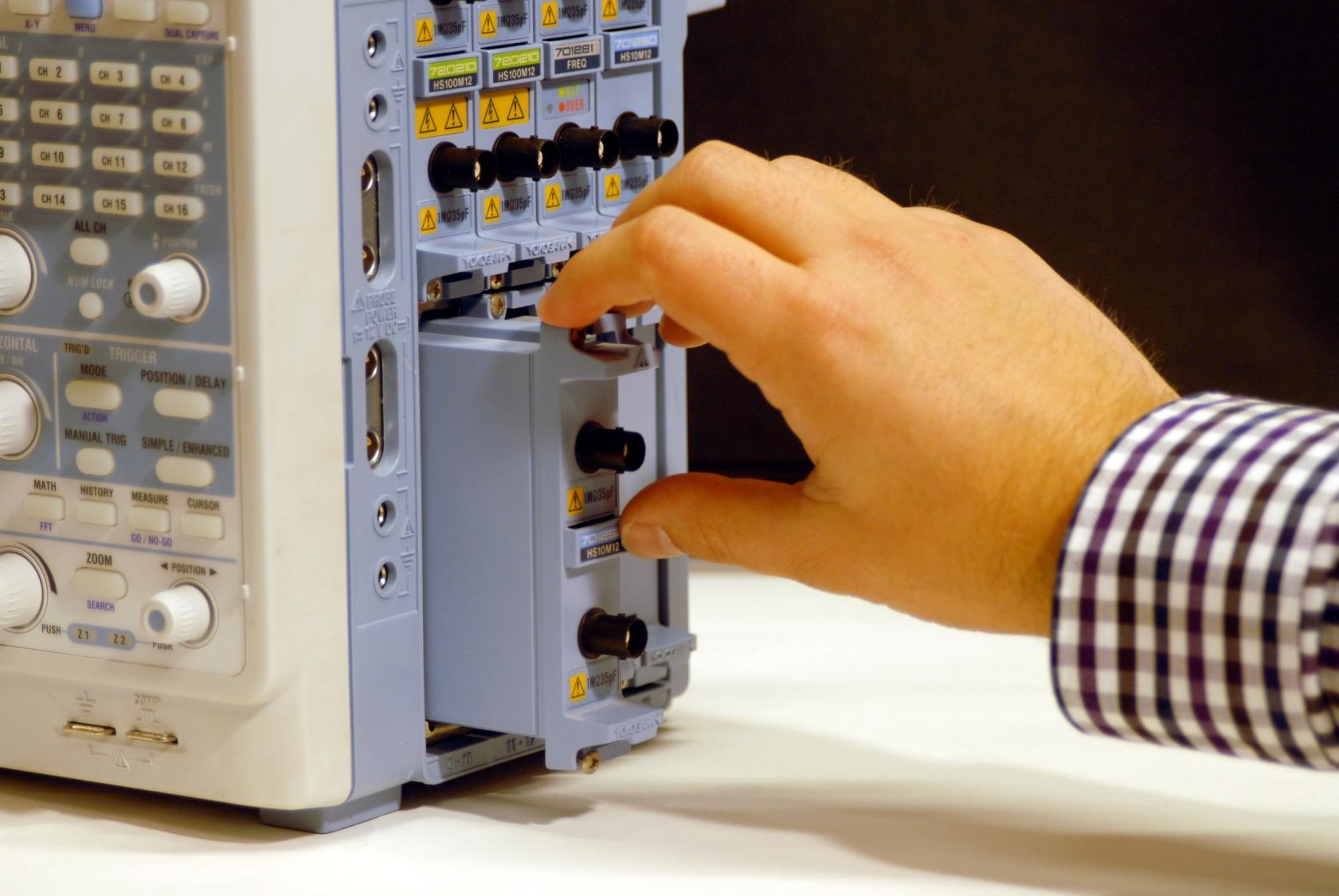 Yokogawa plug-in modules for DAQ recorders