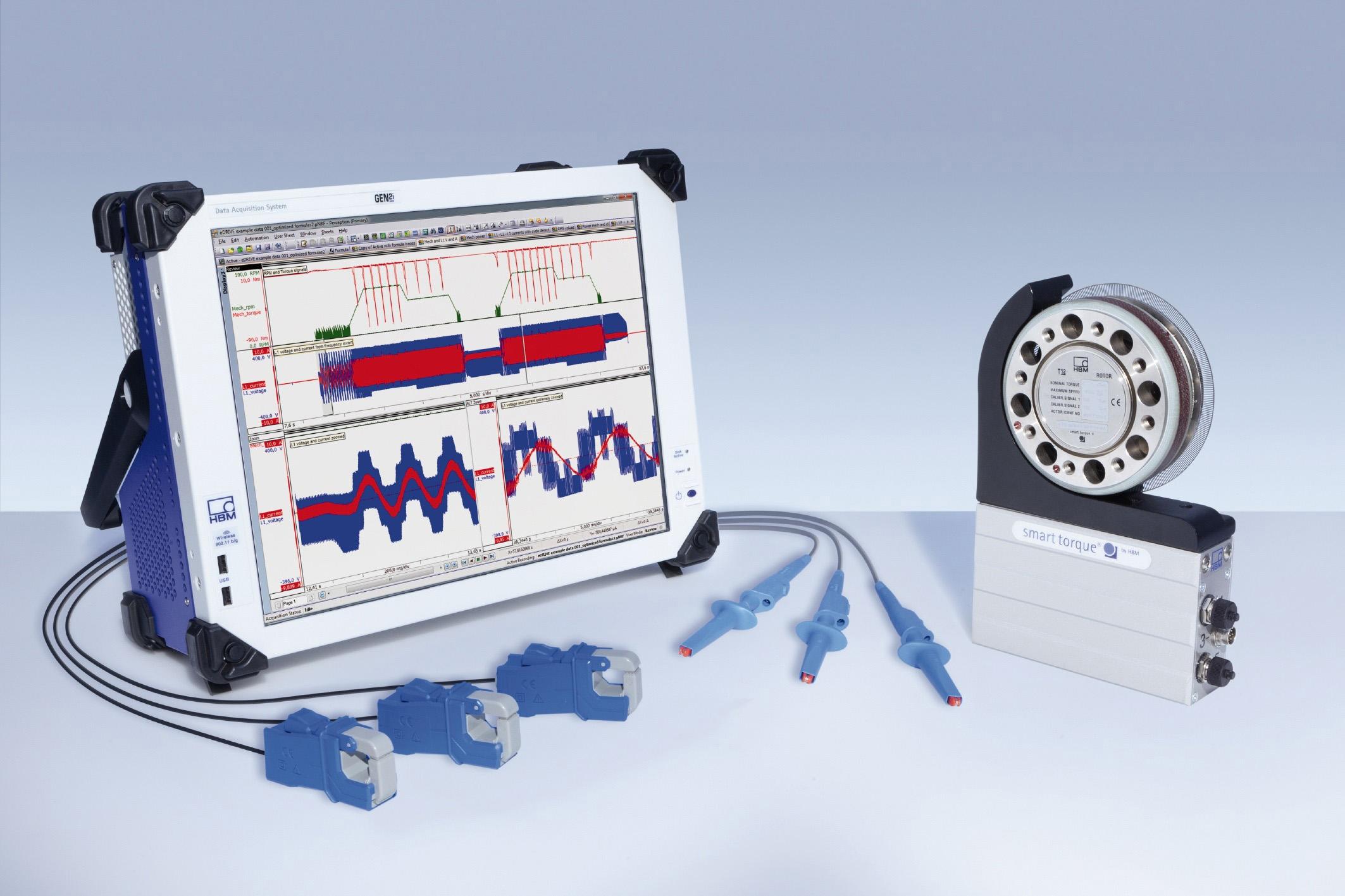 eDrive GEN2i T12 test system from HBM