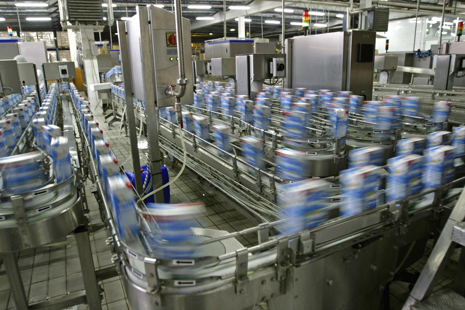 highly automated production environment
