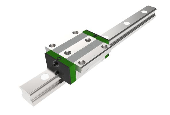 linear recirculating ball bearing and guideway assembly